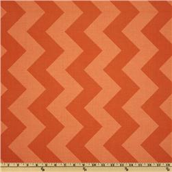 Riley Blake Chevron Large Tonal Orange Fabric