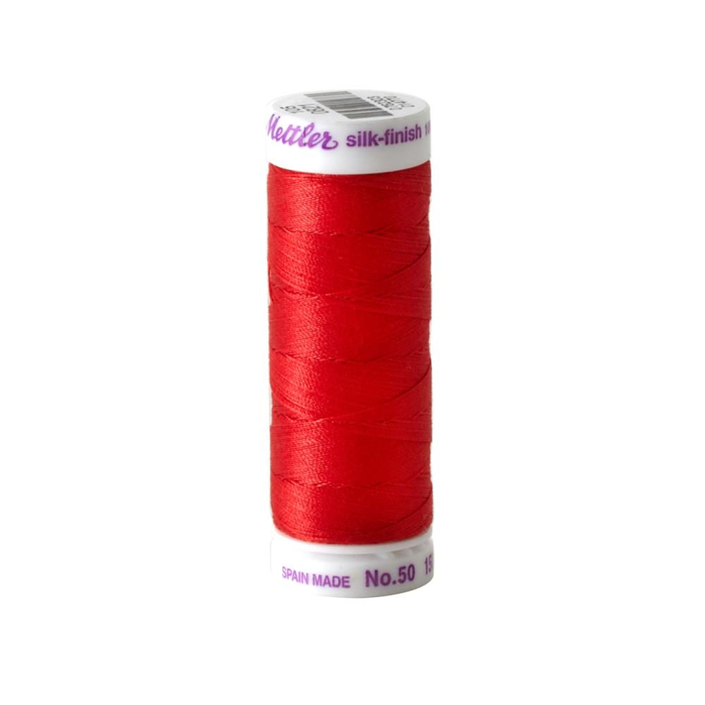 Mettler Cotton All Purpose Thread Candy Apple
