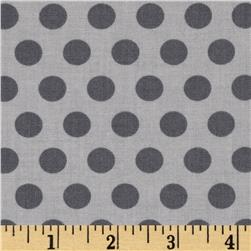 Moda April Showers Polka Dot Grey