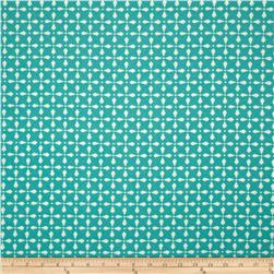Richloom Indoor/Outdoor Plantation Turquoise Fabric