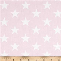 Premier Prints Stars Twill Bella/White