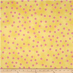 Happy Cats Jumbo Dots Yellow