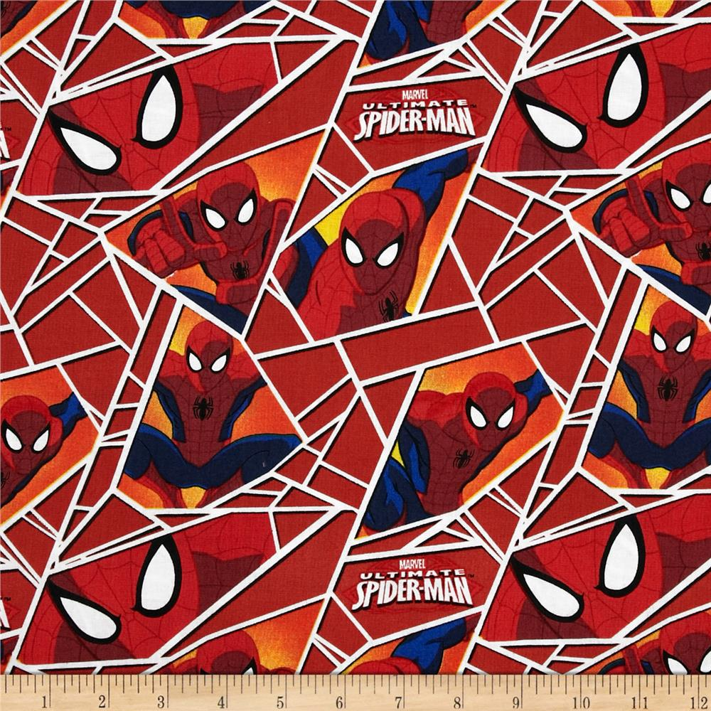 Marvel Ultimate Spiderman Shards Red
