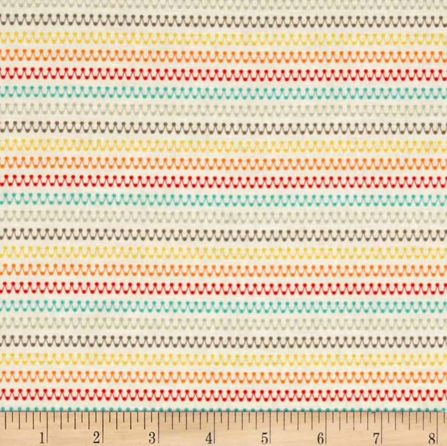 Riley Blake Boy Crazy Stripes Multi