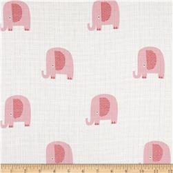 Riley Blake Double Gauze Elephant Pink