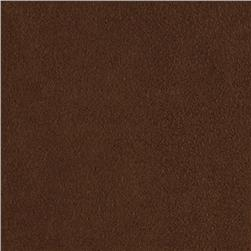 Kaufman Nu-Suede Chocolate Fabric