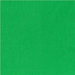 Kaufman 21 Wale Corduroy Grass Green Fabric