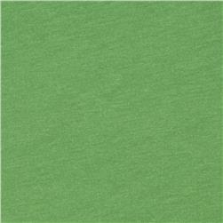 Cotton Jersey Knit Pea Green