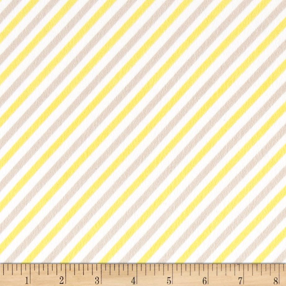 Riley Blake Oh Boy! Flannel Stripe Yellow