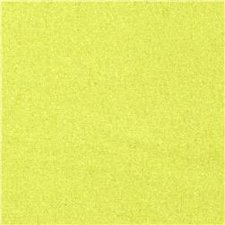 Raw Silk Noil Bright Yellow