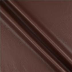 Faux Leather Buffalo Chocolate Fabric