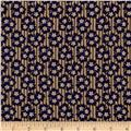 Tavern Collection Three Leaf Clover Brown/Blue