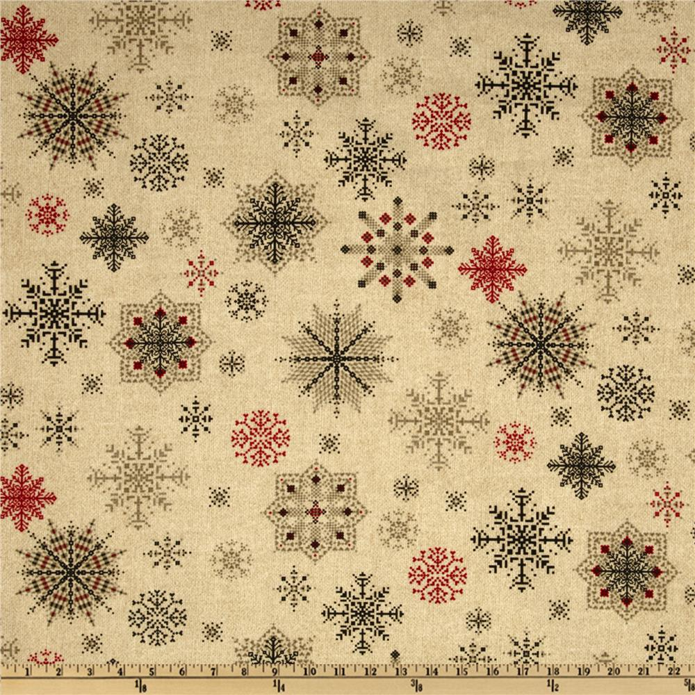 Winter Wonderland Snowflakes Cream