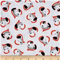 Peanuts Good Friends Snoopy In Heart Red