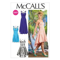 McCall's Misses' Dresses Pattern M6740 Size AX5