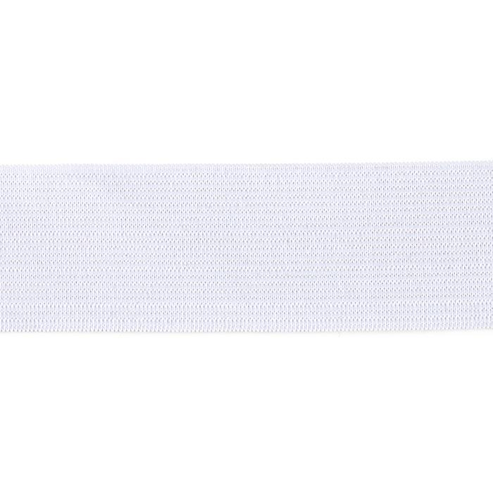 "1-1/2"" Heavy Duty Elastic White - By the Yard"
