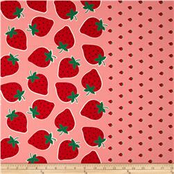 Seven Islands Strawberry Border Print Pink