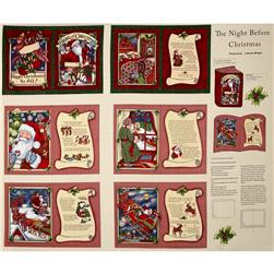 Christmas Night Before Christmas Soft Book Multi