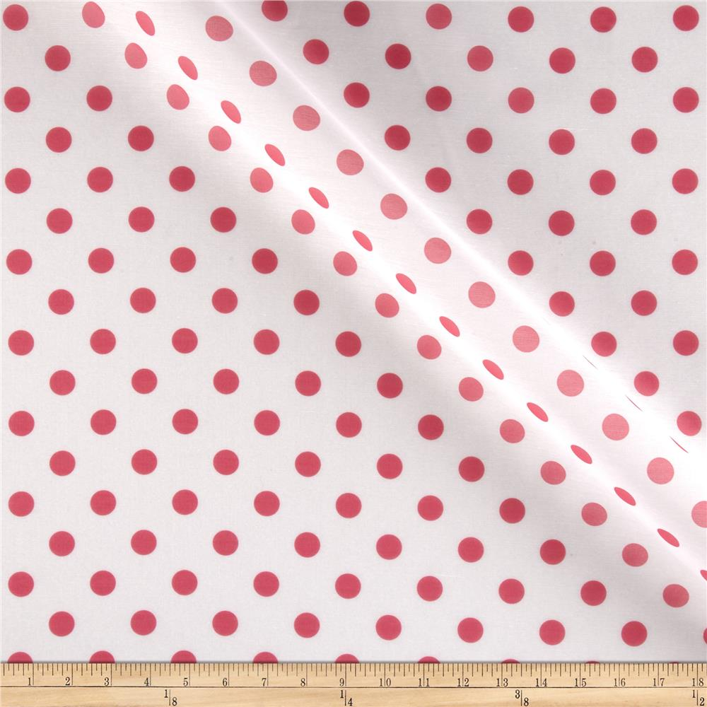 RCA Polka Dots Sheers Hot Pink