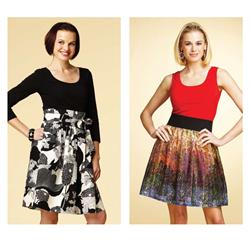 Kwik Sew Multi-Fabric Dresses Pattern