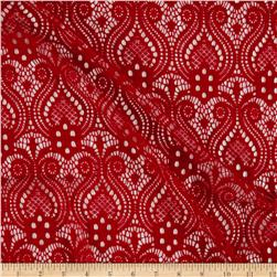 Ornamental Lace Red