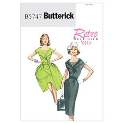 Butterick Misses'/Misses' Petite Dress and Belt Pattern B5747 Size B50