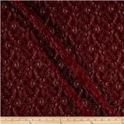 Metallic Lace Merlot