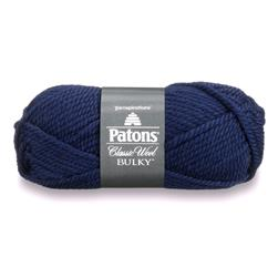 Patons Classic Wool Bulky Yarn (89110) Navy