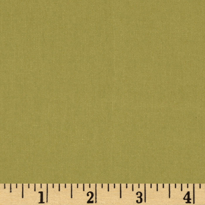 Moda Bella Broadcloth (#9900-69) Organic Green Fabric