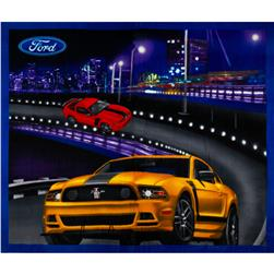 Ford Mustang Collection Fleece Panel Multi
