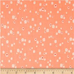 Art Gallery Geometric Bliss Voile Spherical Buds Peach