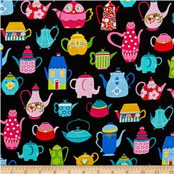 Teapots Black/Multi