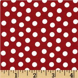 Essentials Dotcha Red/White