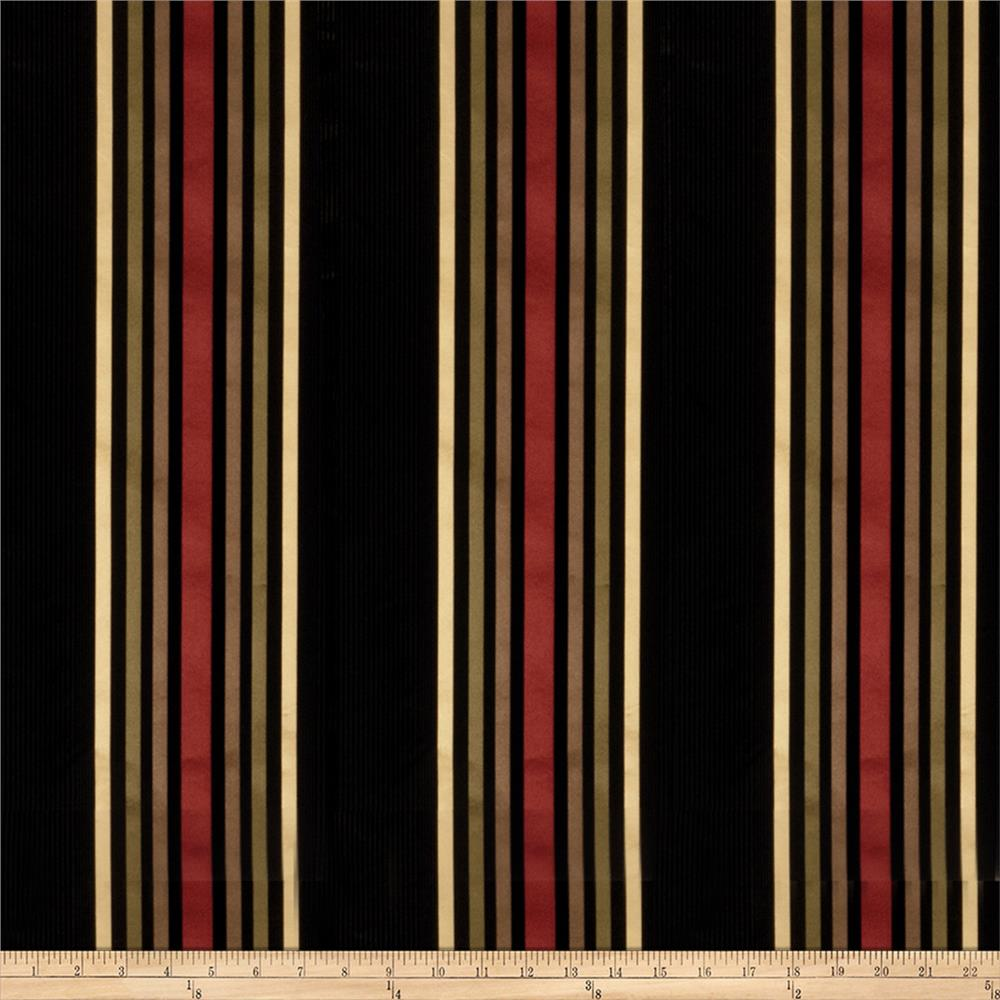 Fabricut Equalize Silk Charbrown