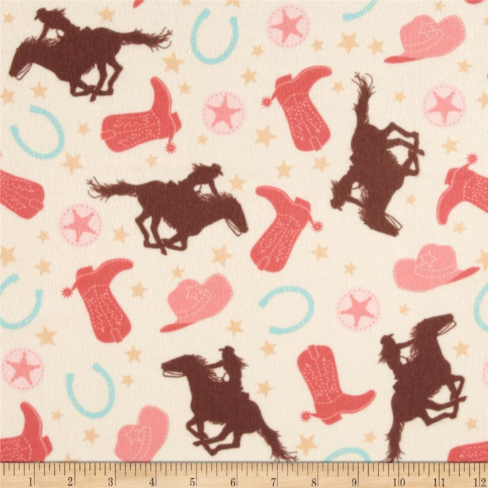 Riley Blake Rodeo Rider Flannel Rodeo Main Cream