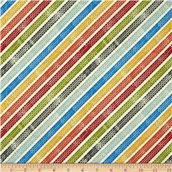 Auto Tracks Diagonal Stripe Bright