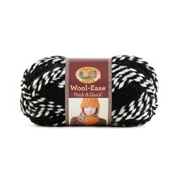 Lion Brand Wool-Ease Think & Quick Yarn Tigers