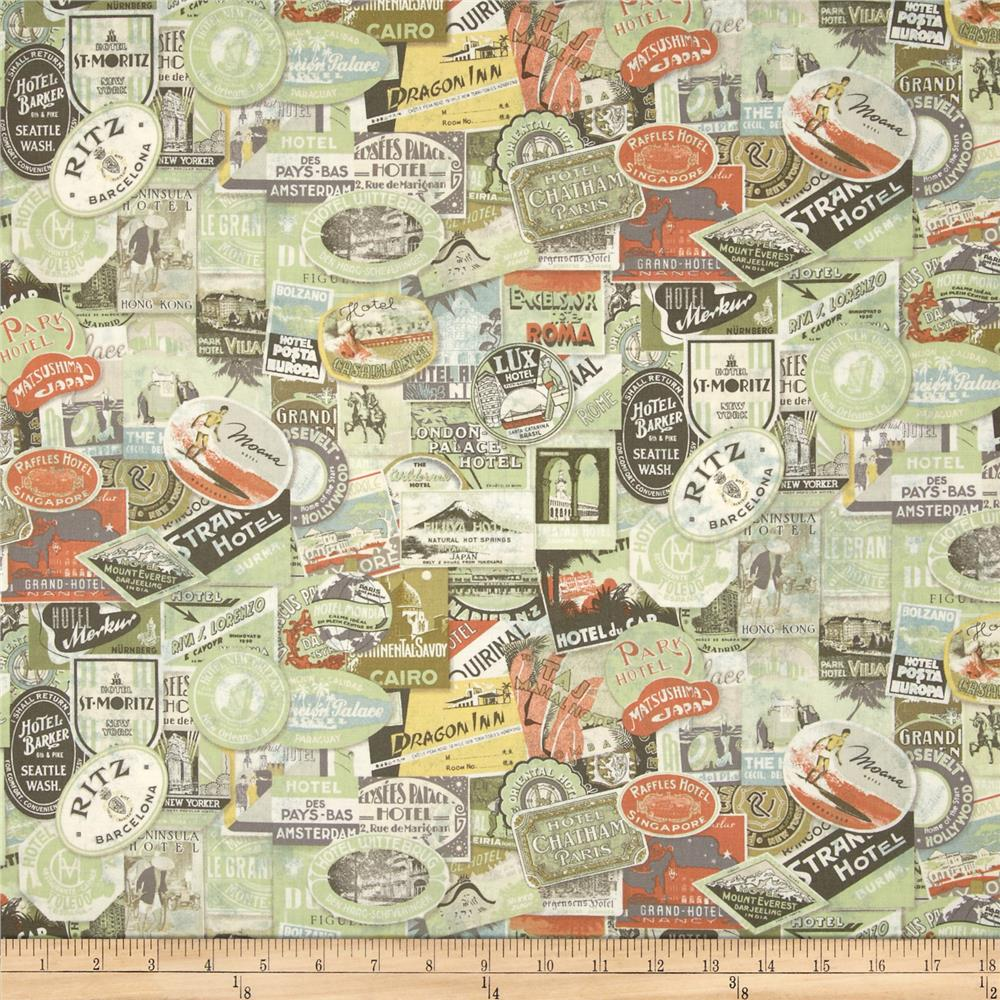 Tim Holtz Eclectic Elements Travel Labels Multi