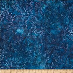 Artisan Batiks Northwoods Bare Leaves Starry Night Blue