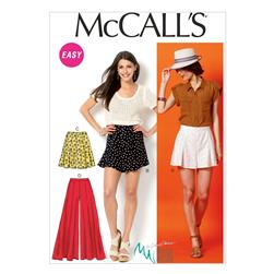 McCall's Misses' Shorts and Pants Pattern M6965 Size A50