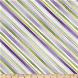 Sundance Diagonal Stripe Purple/Green