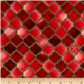 Holy Gathering Metallic Stained Glass Ruby