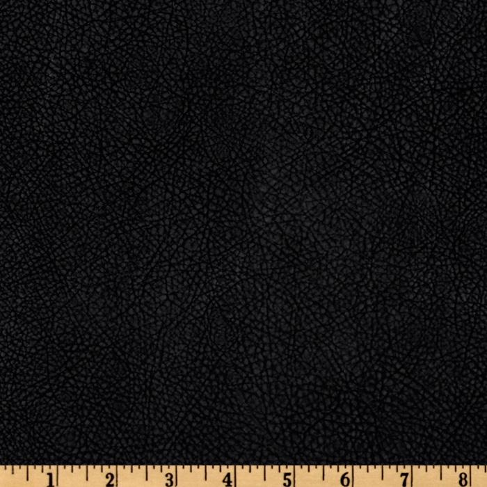 Bijoux Faux Leather Textured Black Discount Designer