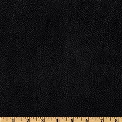 Bijoux Faux Leather Textured Black Fabric