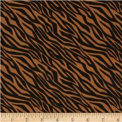 Black & Tan Zebra Cognac/Black