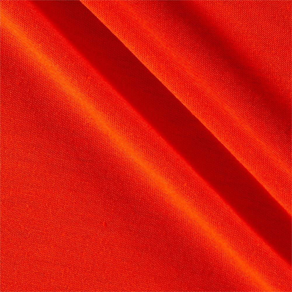 Polyester Jersey Knit Solid Tangerine