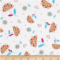 LuLu Small Floral Peach