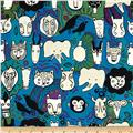 Africa Faces of Liwaza Animal Faces Aqua