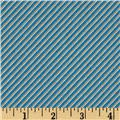 Tee Time Diag Stripe Blue