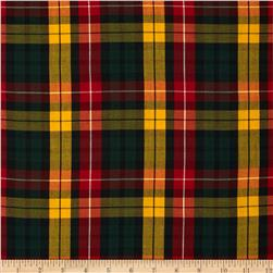 House of Wales Plaid Multi Fabric